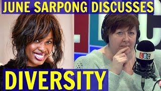 June SARPONG Discusses DIVERSITY, RACISM and INEQUALITY - LBC