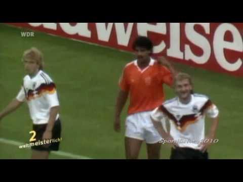 Fussball WM - Skandale [9] Rijkaard spuckt Völler an 1990