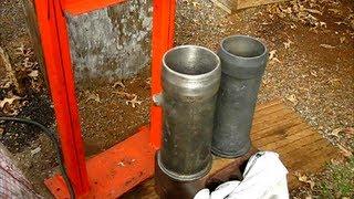 IHC ENGINE cylinder sleeve remove the easy way