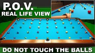 45 Balls - Don't Touch Other Balls !!! POV GoPro Billiard Drill