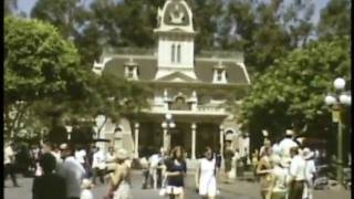 vintage disneyland 1968 with old rides that now gone people mover old submarine