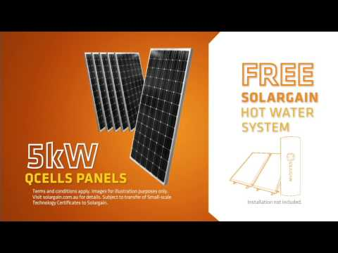 FREE SHW system with 5kW PV system