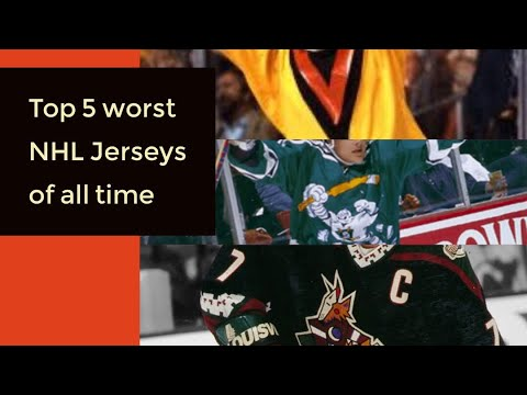 79b48f5347e Top 5 worst NHL Jerseys of all time ( SHORT ) - YouTube