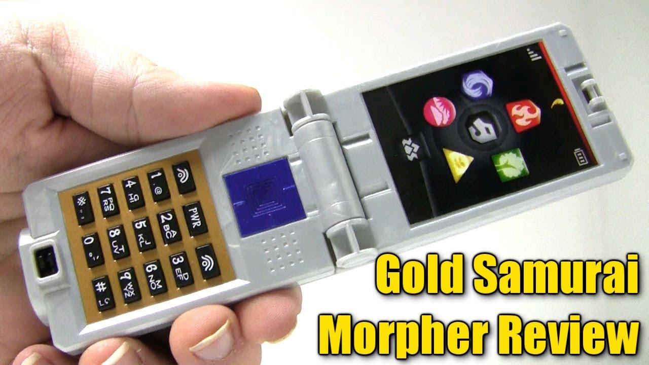 [1080P HD] Power Rangers Samurai Gold Samurai Morpher ...