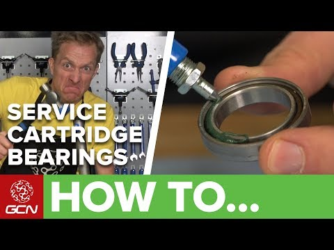 How To Service Cartridge Bearings On Your Road Bike