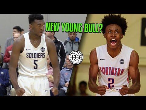 Kyree Walker is the NEW YOUNG BULL? BEST FRESHMAN in Highschool Basketball?!