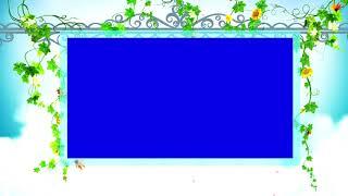 Natur video-frame blau hintergrund || DMX-HD-BG 261