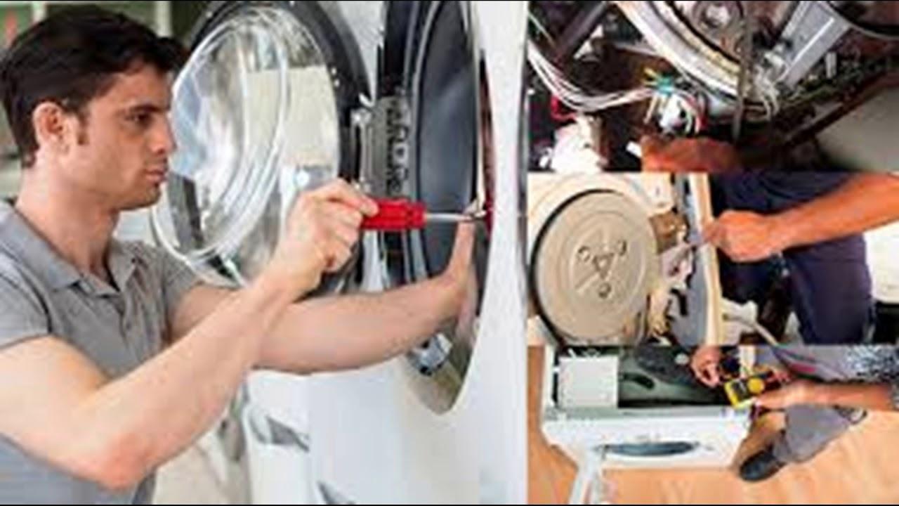 réparation machine à laver à domicile kénitra - YouTube