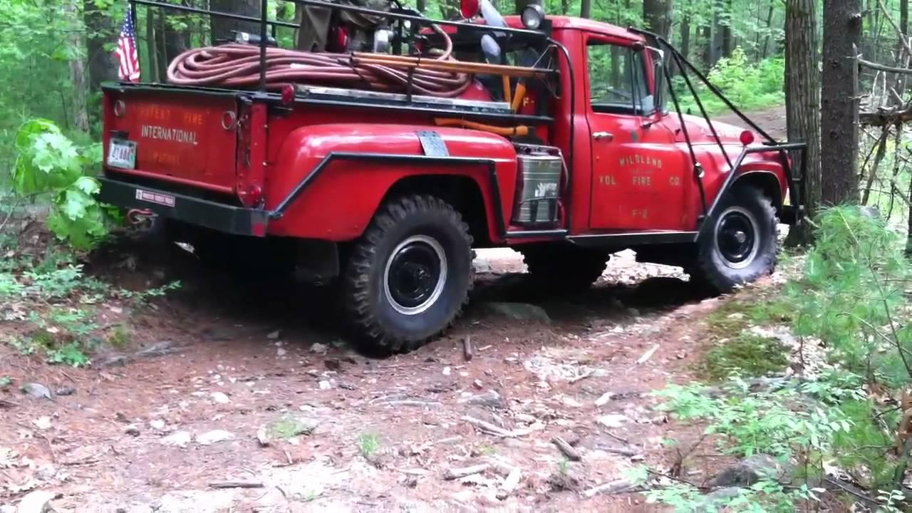 1962 international brush truck pt 1 youtube for Dekor international pt