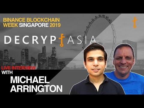 Ep. #33: Fireside chat with Michael Arrington (Partner at Arrington XRP Capital)