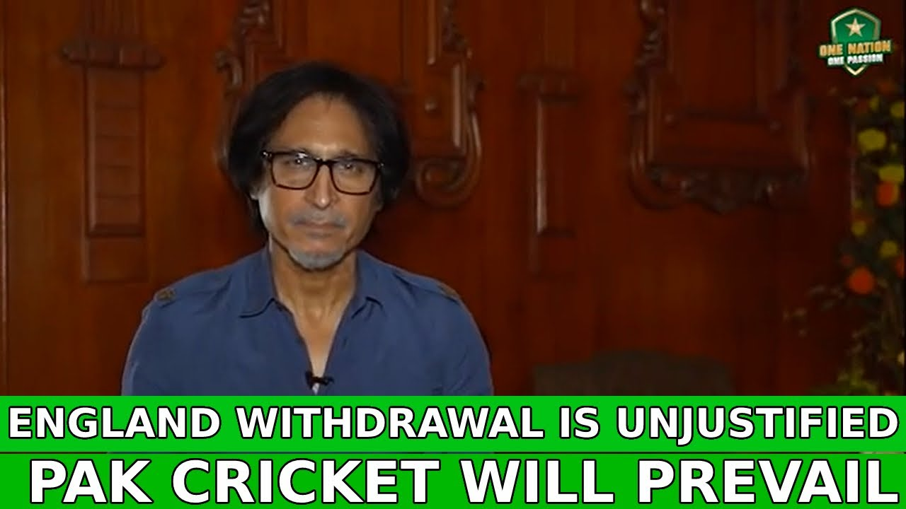 England withdrawal is unjustified | Pak cricket will prevail
