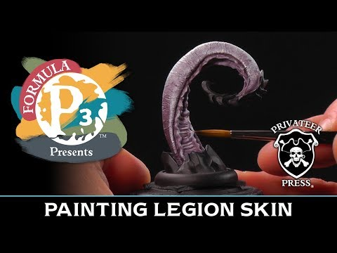 Formula P3 Presents: Painting Legion Skin