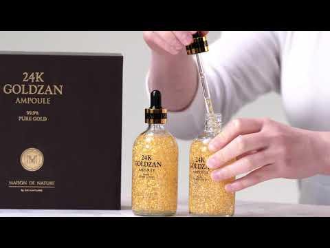 24K Goldzan Ampoule 99.9% Pure Gold