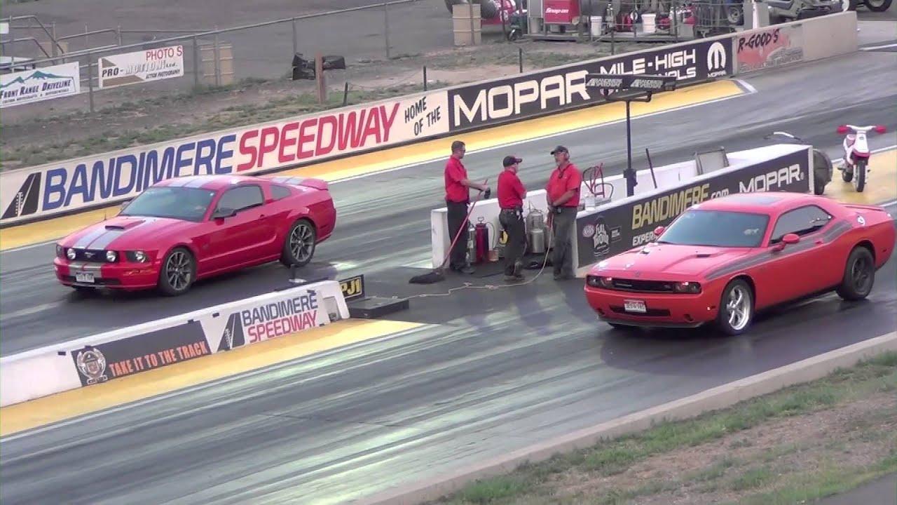 Dodge Challenger RT vs Mustang GT  YouTube