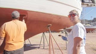 EP.25 Sailing Vessel Prism; Paint rollers and machine shops