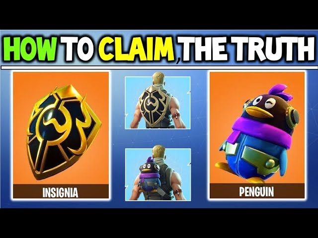 how to claim penguin insignia back bling explained the truth behind the chinese fortnite epic how - china fortnite back bling