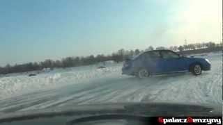 Subaru Impreza WRX - snow fun - drift na śniegu - Tor Lublin - 27.1.2012 - Spalacz Benzyny