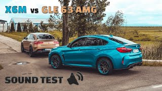 BMW X6M vs Mercedes-Benz GLE 63 AMG S - Sound Test