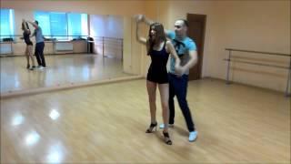 Репетиция свадебного танца - бачата