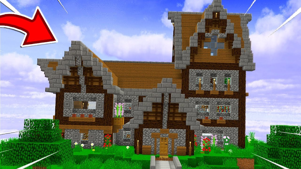 This Minecraft House Took 1 Second To Build