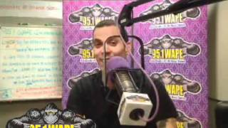 Steve O from Jackass on 95.1 WAPE