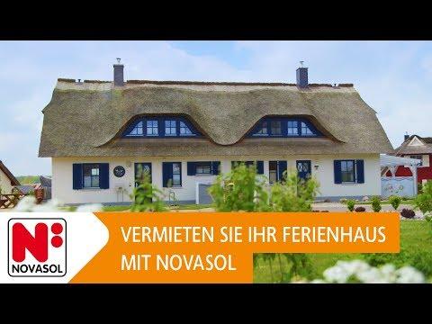 Vermieten Sie Ihr Ferienhaus Mit NOVASOL