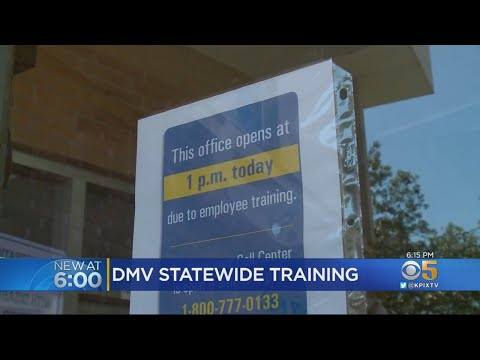 All California DMV Offices Close For Half-Day Employee Training