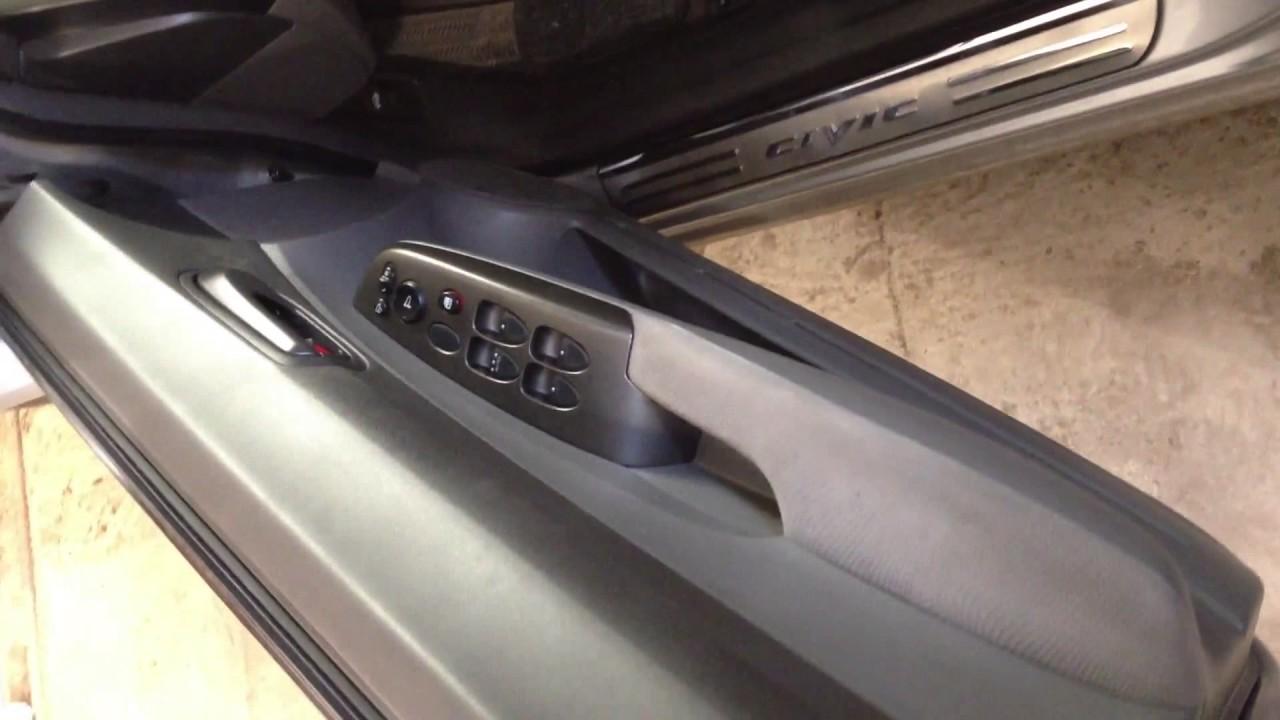 Honda Civic 4D старый и новый ограничитель дверей