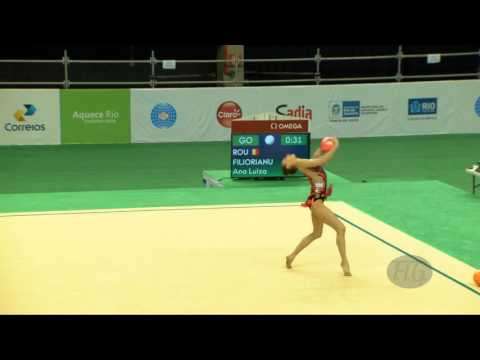 FILIORIANU Ana Luiza (ROU) - 2016 Olympic Test Event, Rio (BRA) BA Qualifications