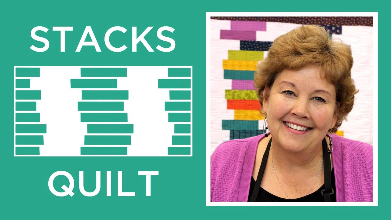 How To Make The Stacks Quilt Youtube