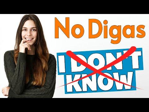 DEJA DE DECIR I DON'T KNOW EN INGLÉS! | 11 Maneras de sonar MÁS FLUIDO en inglés