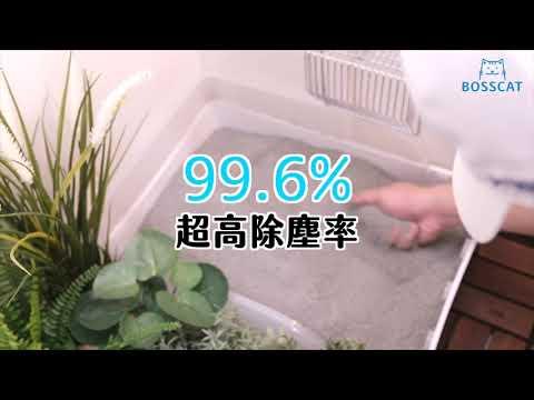 貓老闆經典公寓砂實測影片:除臭無塵3原礦配方