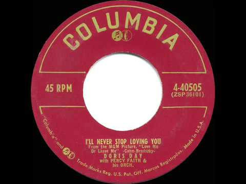 1955 HITS ARCHIVE  I'll Never Stop Loving You   Doris Day single version
