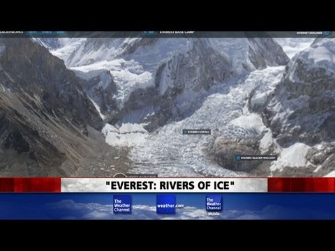 Rivers of Ice at Mt. Everest