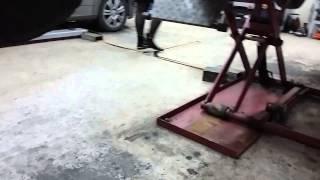 Ford Ranger 2008 - Замена масла в мостах, кпп, раздатке