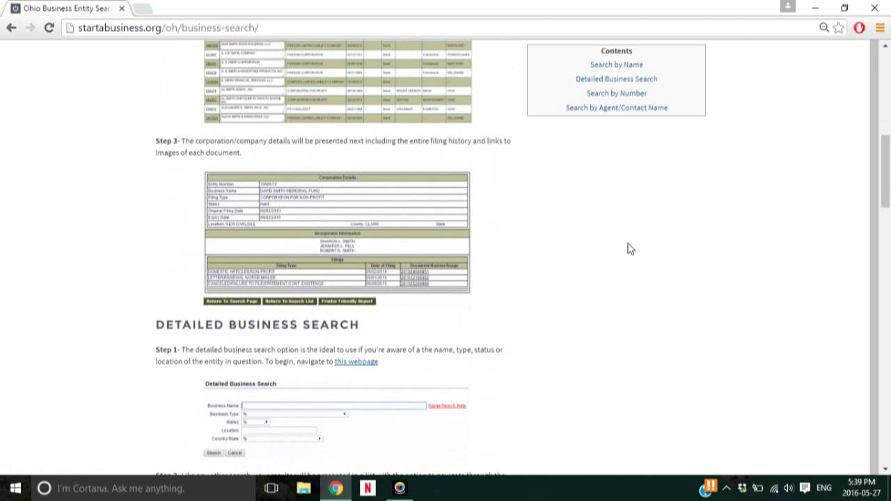 Check availability of business name ohio - Ohio Business Entity Search Corporation Llc Partnerships