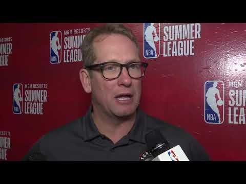 Raptors Summer League: Nick Nurse - July 15, 2018
