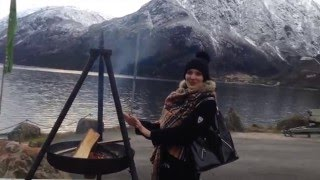 Язык Троля, самое красивое место в Норвегии NORWAY
