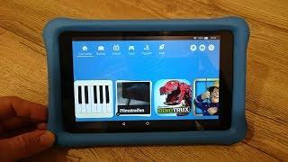 Fire HD Kids 8 Edition Amazon kindle Tablet kurze Vorstellung / short review intro