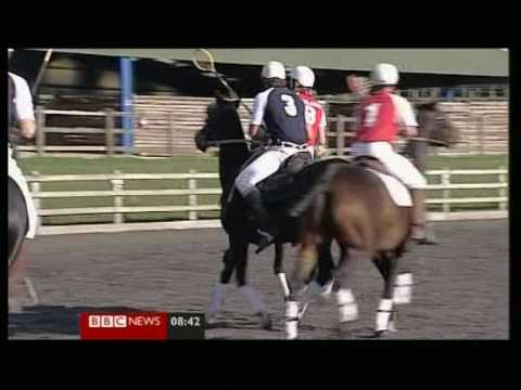 BBC National News piece on polocrosse