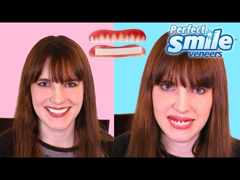 People Try Perfect Smile Veneers For Bad Teeth and Review Them