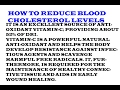 How to reduce blood cholesterol it is rich in dietary insoluble fiber pectin.Health benefits