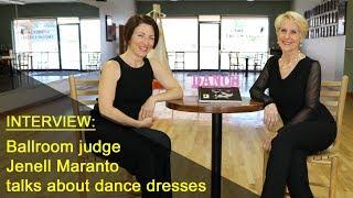 Interview Dancesport judge, Jenell Maranto, about women's costumes