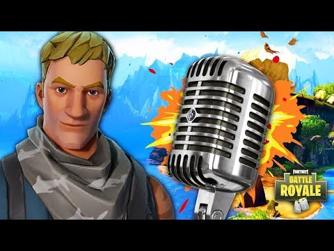 British Rapper in Fortnite!