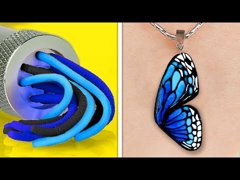 Cute And Colorful POLYMER CLAY Ideas || DIY Jewelry, Mini Crafts And Home Decor