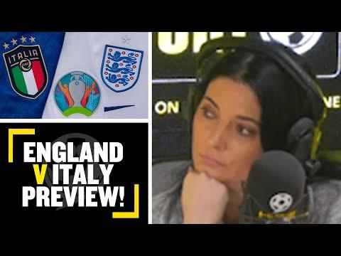 EURO 2020 FINAL PREVIEW: Natalie Sawyer & Tony Cascarino preview England V Italy tomorrow evening