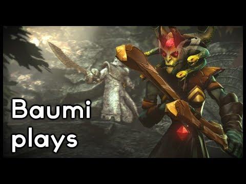 Dota 2 | THE MEDUSA DREAM!! FULL 7 SLOTS + LVL 25 TALENT!! | Baumi Plays Medusa