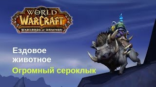 World Of Warcraft с jago -  Огромный сероклык