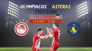 Live streaming | Ολυμπιακός-Αστέρας | Post game με τον Διονύση Βερβελέ