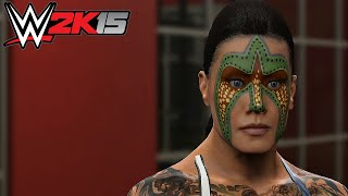WWE 2K15 : Hidden Diva CAW mode?